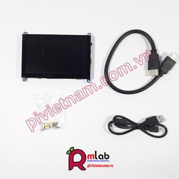Màn hình LCD 5inch HDMI (H), 800x480, cảm ứng điện dung Waveshare