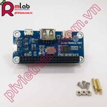 Li-ion Battery HAT Waveshare cho Raspberry Pi