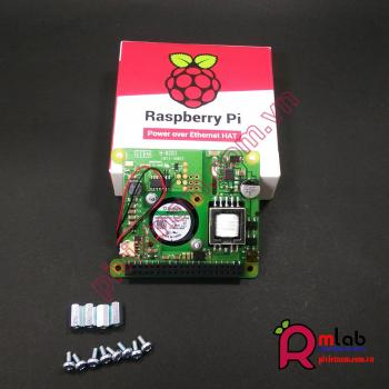 Power over Ethernet (PoE) cho Raspberry Pi 3 Model B+ và thiết bị mạng PoE 802.3af