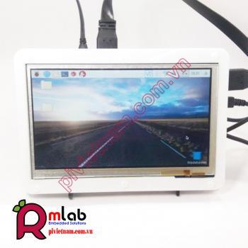Màn hình LCD 7inch HDMI (B), 800x480, Cảm ứng điện dung Waveshare