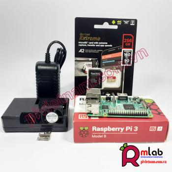 Bộ sản phẩm Raspberry Pi 3 Model B Pro