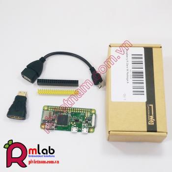 Bộ sản phẩm Raspberry Pi Zero W - Cơ bản A