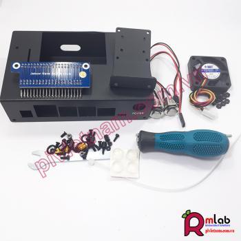 Vỏ hộp Jetson Nano (SP33) có quạt và nút bấm