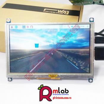 Màn hình LCD 5inch HDMI (B) 800x480 cảm ứng điện trở Waveshare