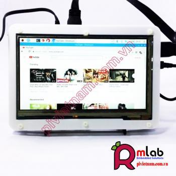 Màn hình LCD 7inch HDMI (C), 1024×600, IPS, cảm ứng điện dung Waveshare