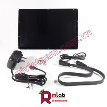 Màn hình LCD 10.1inch HDMI (B) (with case), 1280×800, IPS, cảm ứng điện dung Waveshare