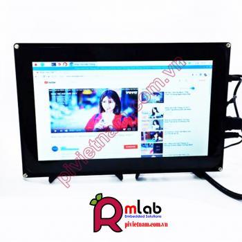 Màn hình LCD 10.1inch HDMI (H) (with case), 1024x600, cảm ứng điện dung Waveshare