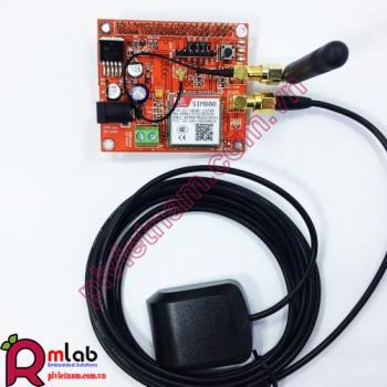 RPI SIM808 GSM/GPS SHIELD (Module GSM/GPS dùng cho Raspberry Pi)