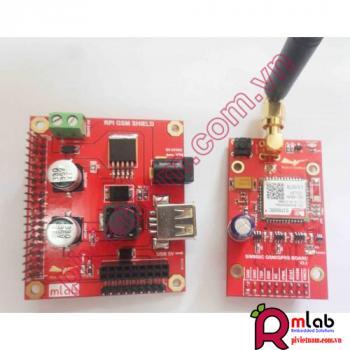 RPI SIM800C Shield (dùng cho Raspberry Pi)