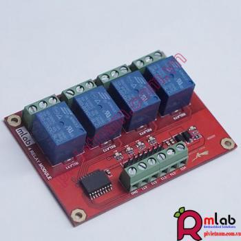 Module Relay 5VDC x 4