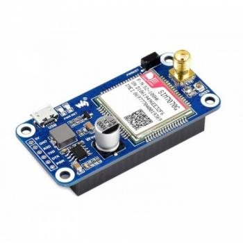 SIM7070G NB-IoT / Cat-M / GPRS / GNSS HAT dành cho Raspberry Pi, global band support