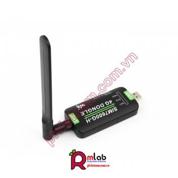 SIM7600G-H 4G DONGLE, GNSS Positioning, Global Band Support
